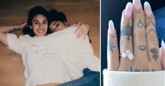 Nữ ca sĩ Ariana Grande thông báo đính hôn - Ảnh 2.
