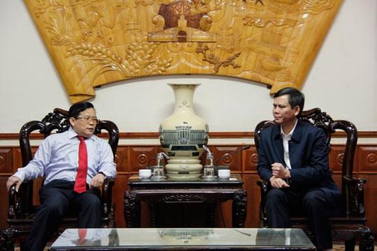Báo Người Lao Động và tỉnh Quảng Bình mở rộng hợp tác - Ảnh 1.