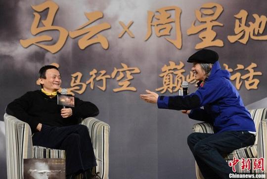 """Châu Tinh Trì nói gì trước câu hỏi """"nhạy cảm"""" của tỷ phú Jack Ma? - Ảnh 2."""