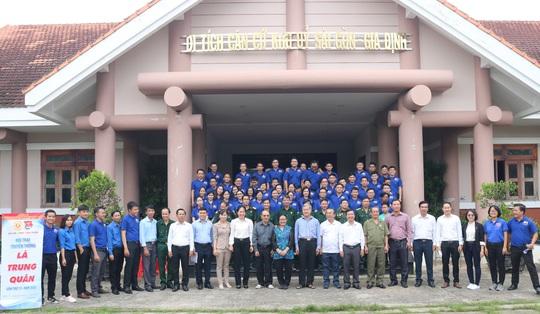 Giáo dục truyền thống qua Hội trại truyền thống Lá Trung Quân - Ảnh 1.