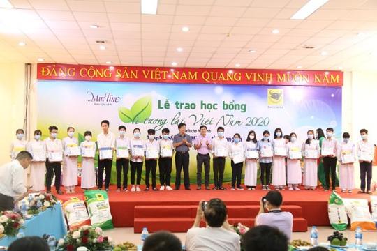 Bình Điền cùng học bổng Vì tương lai Việt Nam - Ảnh 1.