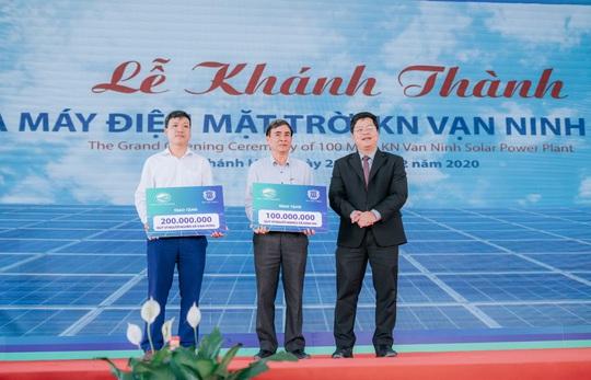 Khánh thành dự án Nhà máy Điện mặt trời KN Vạn Ninh 100 MWp - Ảnh 4.