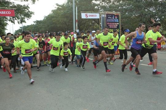 Hơn 350 vận động viên tham gia giải Bia Saigon - Olympic 2030 - Ảnh 1.