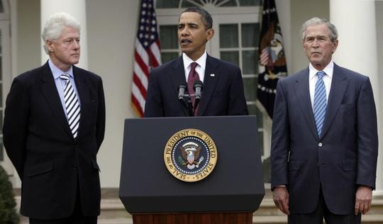 3 cựu tổng thống Mỹ sẵn sàng tiêm vắc-xin Covid-19 - Ảnh 1.