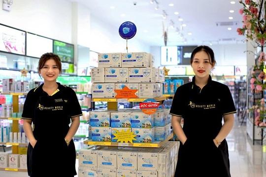 AB Beauty World tham gia bình ổn giá khẩu trang y tế - Ảnh 4.