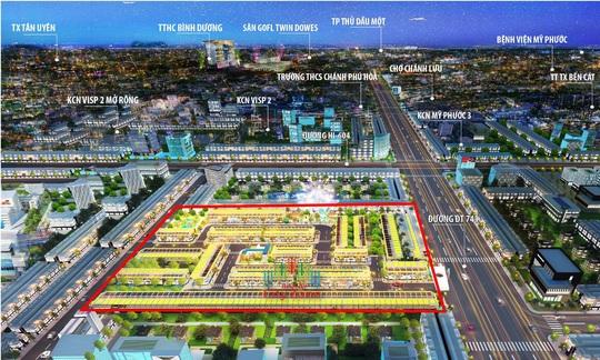 BenCat City Zone hưởng lợi từ vùng đô thị thông minh - Ảnh 1.