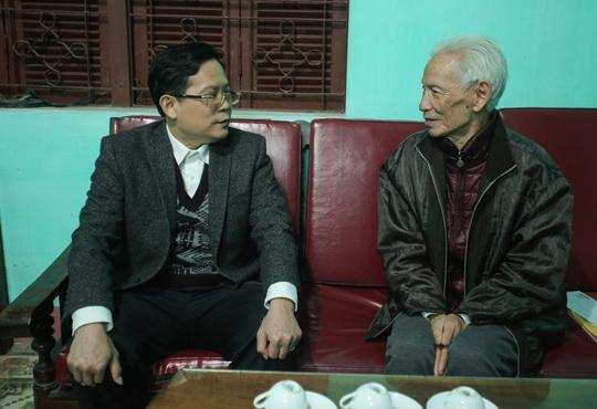 Mai Vàng nhân ái thăm, tặng quà nhà văn, nhà báo Tạ Kim Hùng - Ảnh 3.