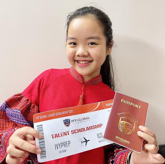 Cô bé mê đàn nhị giành học bổng phổ thông Mỹ - Ảnh 2.