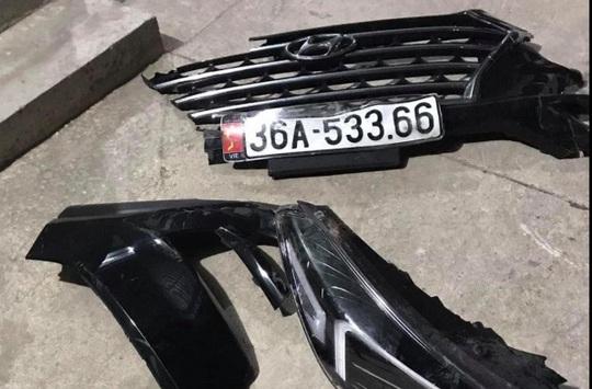 Ôtô tông chết người đi xe máy rồi rời khỏi hiện trường, rơi biển số 36A-533.66 - Ảnh 2.