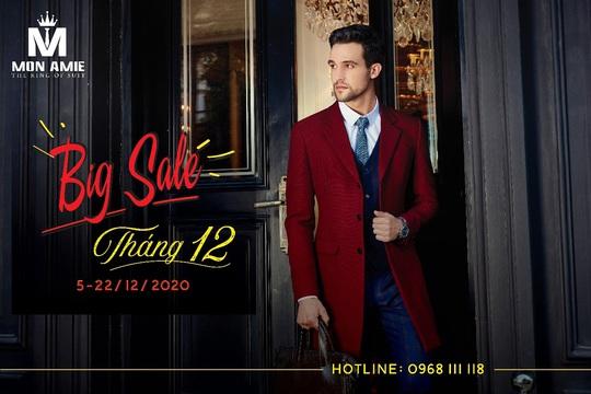 Sale tháng 12 tại Mon Amie Veston - Ảnh 1.