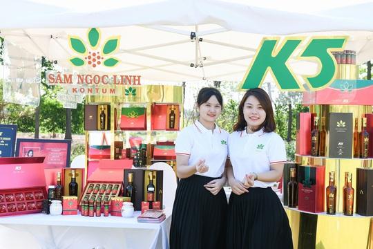 Sâm Ngọc Linh Kon Tum K5 công bố đại sứ thương hiệu - Ảnh 1.