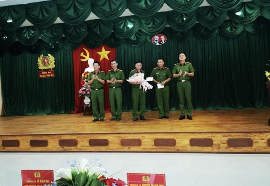 Thưởng nóng lực lượng công an trong vụ bắt giữ đại gia Thiện Soi - Ảnh 1.
