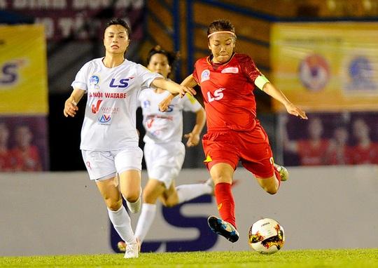 Đánh bại Hà Nội 1 Watabe, TP HCM 1 rộng cửa vô địch Giải Bóng đá nữ VĐQG 2020 - Ảnh 2.