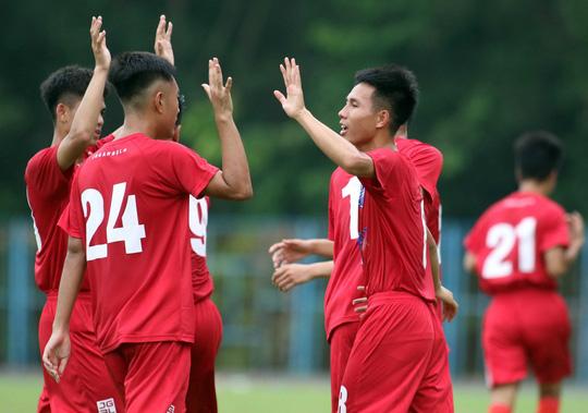Thắng đậm Hà Nội, CLB Viettel vào chung kết Giải U17 Cúp Quốc gia - Ảnh 3.