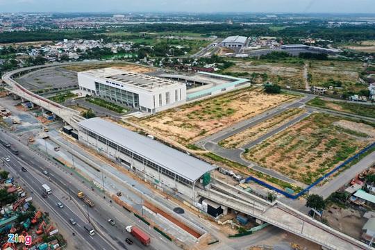 Giá nhà đất quanh Bến xe Miền Đông mới tăng vọt - Ảnh 1.