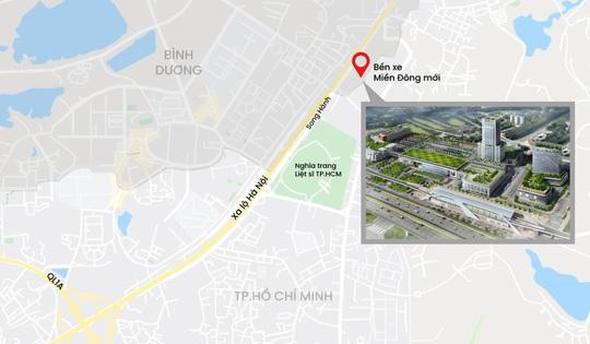 Giá nhà đất quanh Bến xe Miền Đông mới tăng vọt - Ảnh 3.
