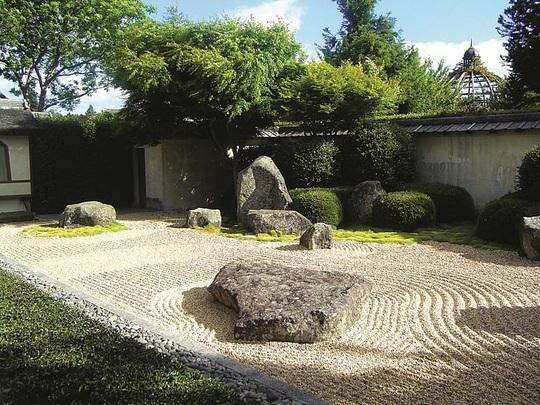 Nghệ thuật mô phỏng trong vườn Thiền - Ảnh 4.