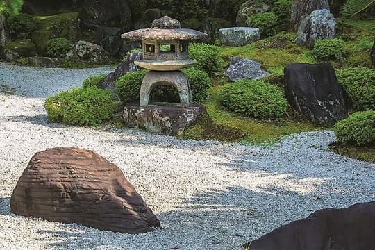 Nghệ thuật mô phỏng trong vườn Thiền - Ảnh 6.