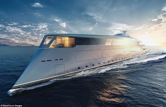Bên trong du thuyền xa xỉ 645 triệu USD tỷ phú Bill Gates mới mua - Ảnh 1.