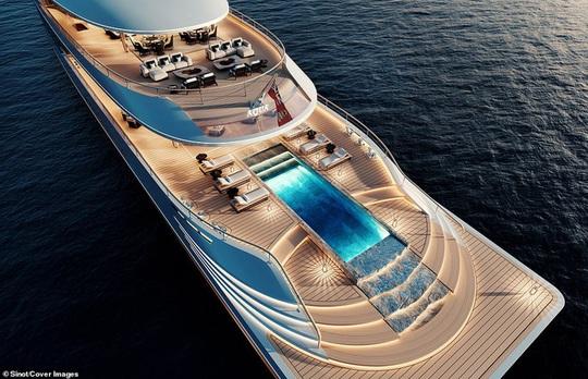 Bên trong du thuyền xa xỉ 645 triệu USD tỷ phú Bill Gates mới mua - Ảnh 2.