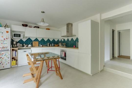 Những gam xanh tối màu tuyệt đẹp cho căn bếp hiện đại - Ảnh 11.