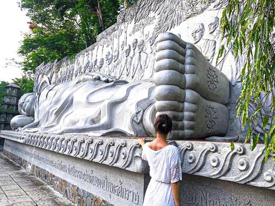 7 ngôi chùa ở Việt Nam có tượng Phật nằm lớn - Ảnh 3.