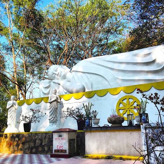 7 ngôi chùa ở Việt Nam có tượng Phật nằm lớn - Ảnh 4.