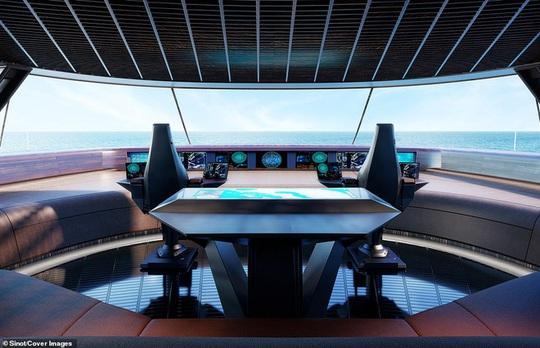 Bên trong du thuyền xa xỉ 645 triệu USD tỷ phú Bill Gates mới mua - Ảnh 5.