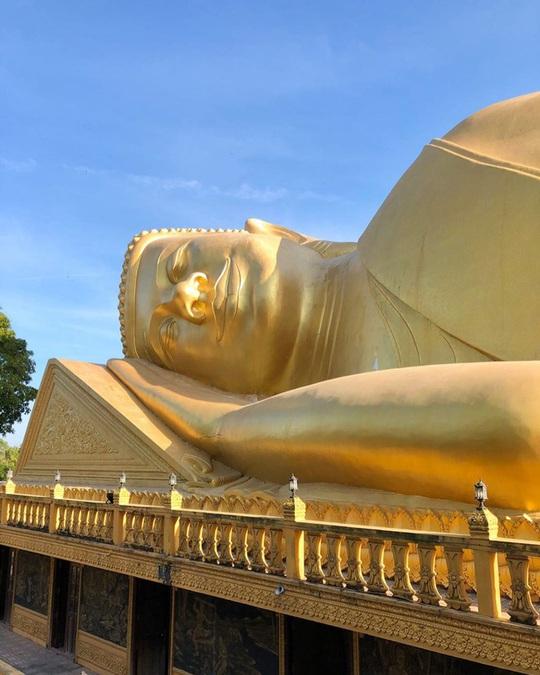 7 ngôi chùa ở Việt Nam có tượng Phật nằm lớn - Ảnh 6.
