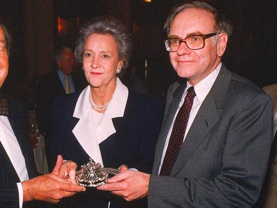 Cuộc hôn nhân kỳ lạ của tỷ phú Warren Buffett - Ảnh 6.