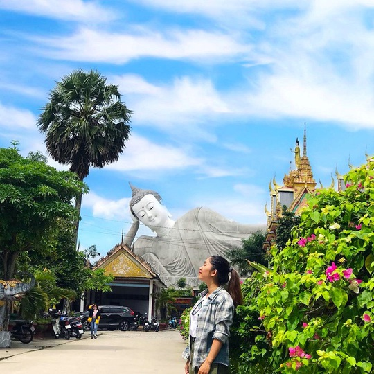 7 ngôi chùa ở Việt Nam có tượng Phật nằm lớn - Ảnh 7.