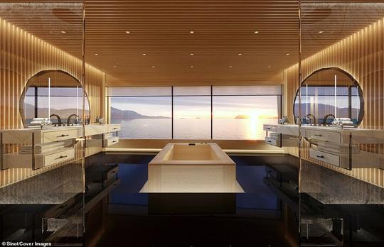 Bên trong du thuyền xa xỉ 645 triệu USD tỷ phú Bill Gates mới mua - Ảnh 8.