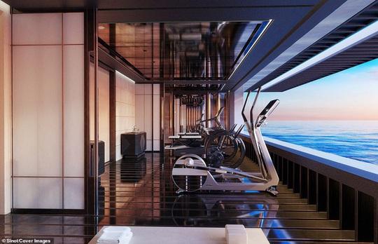 Bên trong du thuyền xa xỉ 645 triệu USD tỷ phú Bill Gates mới mua - Ảnh 9.