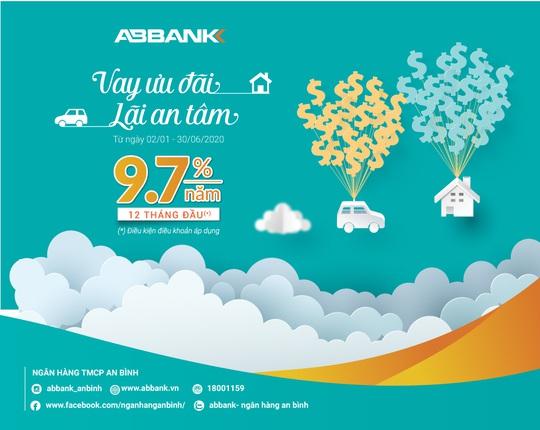 ABBANK dành 2.000 tỉ đồng cho vay ưu đãi với lãi suất từ 9,7%/năm - Ảnh 1.