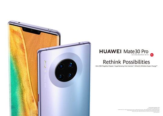 Điện thoại Huawei Mate 30 Pro sẽ được bán tại Việt Nam - Ảnh 1.