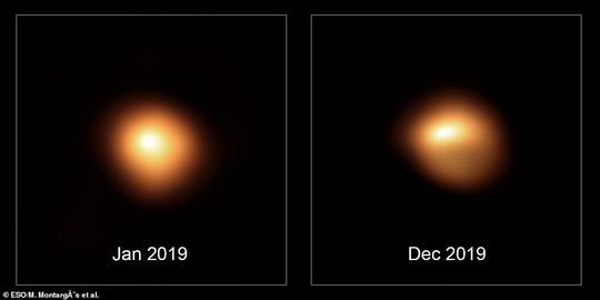 Từ trái đất có thể thấy siêu mặt trời đang biến dạng và sắp nổ - Ảnh 2.