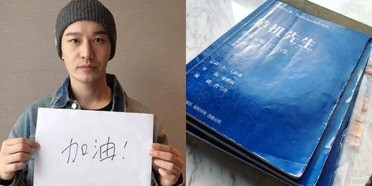 Huỳnh Hiểu Minh không thể về nhà vì Covid-19 - Ảnh 1.