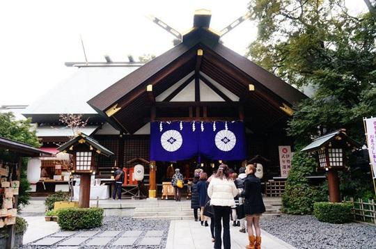 Đền thờ cầu duyên tại Tokyo - Ảnh 1.