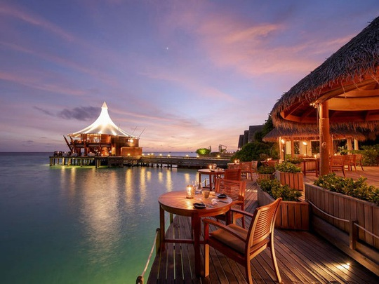 Khu nghỉ dưỡng lãng mạn nhất thế giới - Ảnh 1.