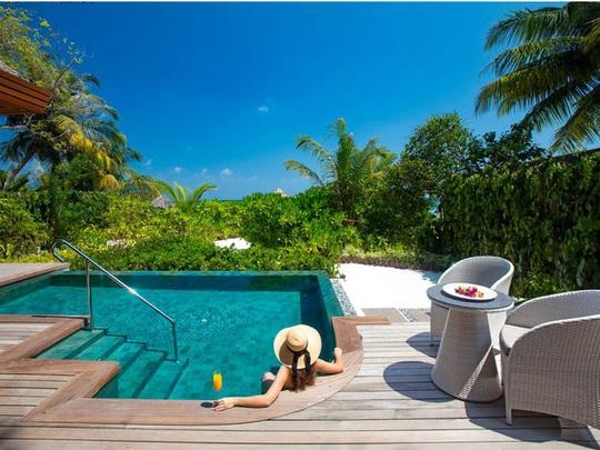 Khu nghỉ dưỡng lãng mạn nhất thế giới - Ảnh 3.