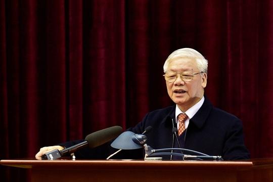 Bộ Chính trị gặp mặt nguyên lãnh đạo cấp cao của Đảng, Nhà nước - Ảnh 1.