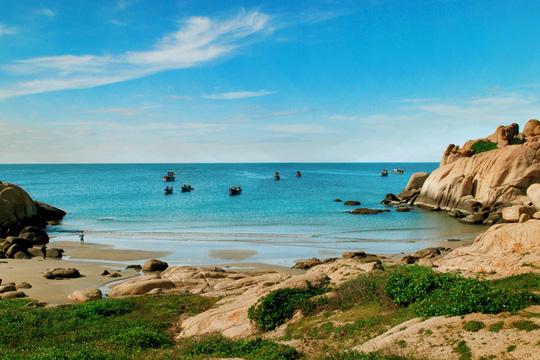 Né dịch tại hòn đảo hoang sơ, tuyệt đẹp ở Bình Thuận - Ảnh 1.