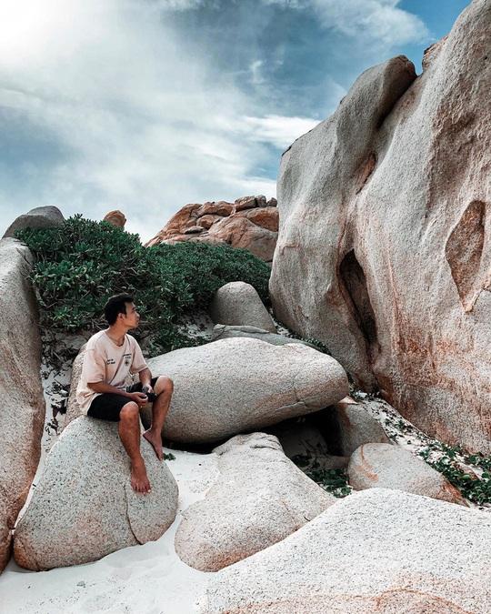 Né dịch tại hòn đảo hoang sơ, tuyệt đẹp ở Bình Thuận - Ảnh 2.