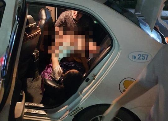 Nam tài xế taxi làm bà đỡ cho sản phụ ở Quảng Nam - Ảnh 1.