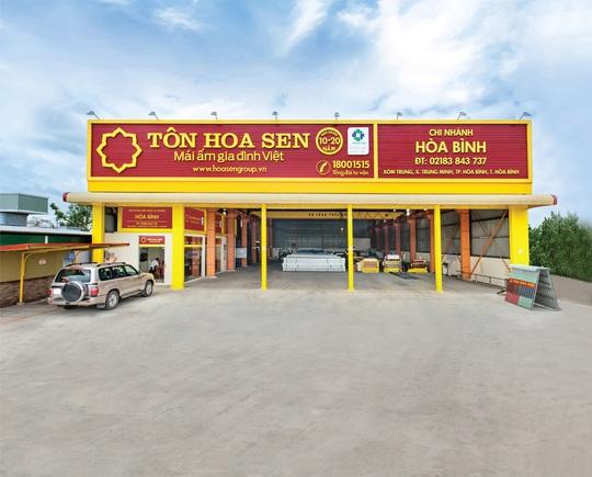 Tập đoàn Hoa Sen tạo đột phá với dòng sản phẩm tôn siêu bền Hoa Sen Gold - Ảnh 1.