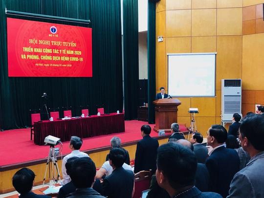 Phó Thủ tướng cùng đại biểu ở 700 điểm cầu tri ân nhân viên y tế nhân Ngày thầy thuốc VN - Ảnh 5.