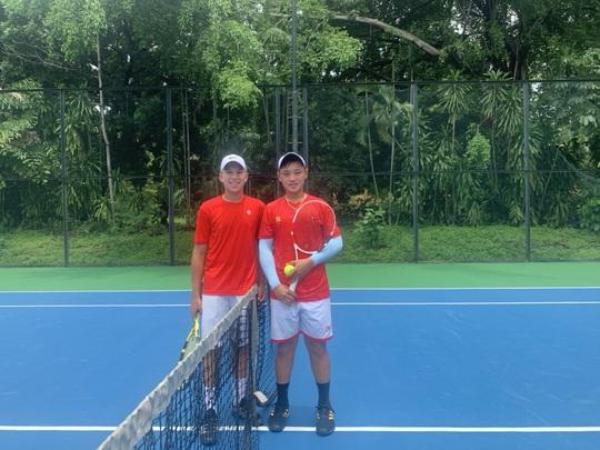 Tuyển quần vợt Việt Nam tỏa sáng ở giải trẻ quốc tế - Ảnh 1.