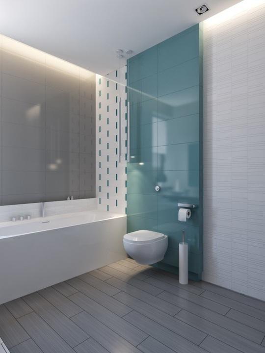 Ngôi nhà hiện đại sử dụng nội thất dạng hình học độc đáo - Ảnh 8.