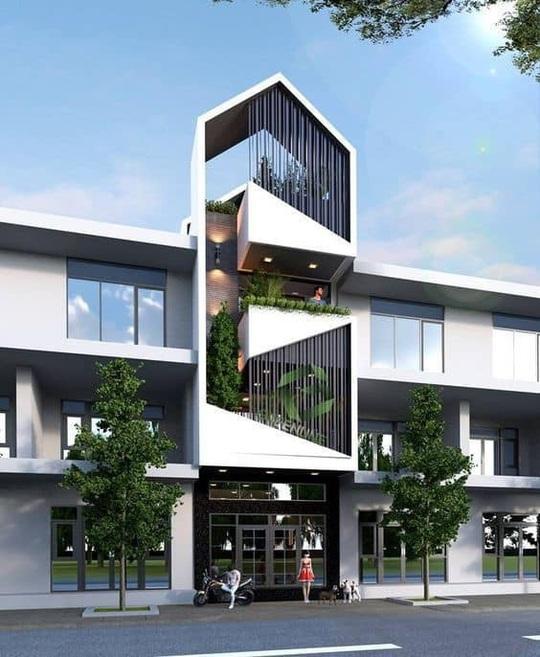 10 mẫu nhà 3 tầng kiến trúc hút mắt nhìn là muốn xây năm 2020 - Ảnh 1.