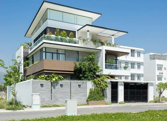 10 mẫu nhà 3 tầng kiến trúc hút mắt nhìn là muốn xây năm 2020 - Ảnh 10.